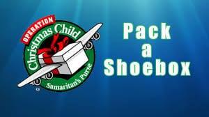 Samaritan's purse Operation Christmas Child shoe box service