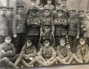 Some Soldiers of Ramsey in WW1
