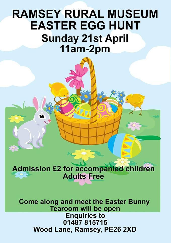 Easter Egg Hunt at Ramsey Rural Museum