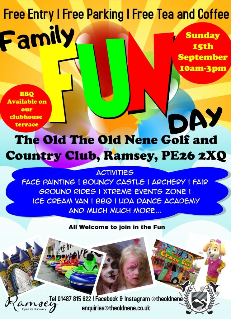 Family fun day at The Old Nene Golf & Country Club
