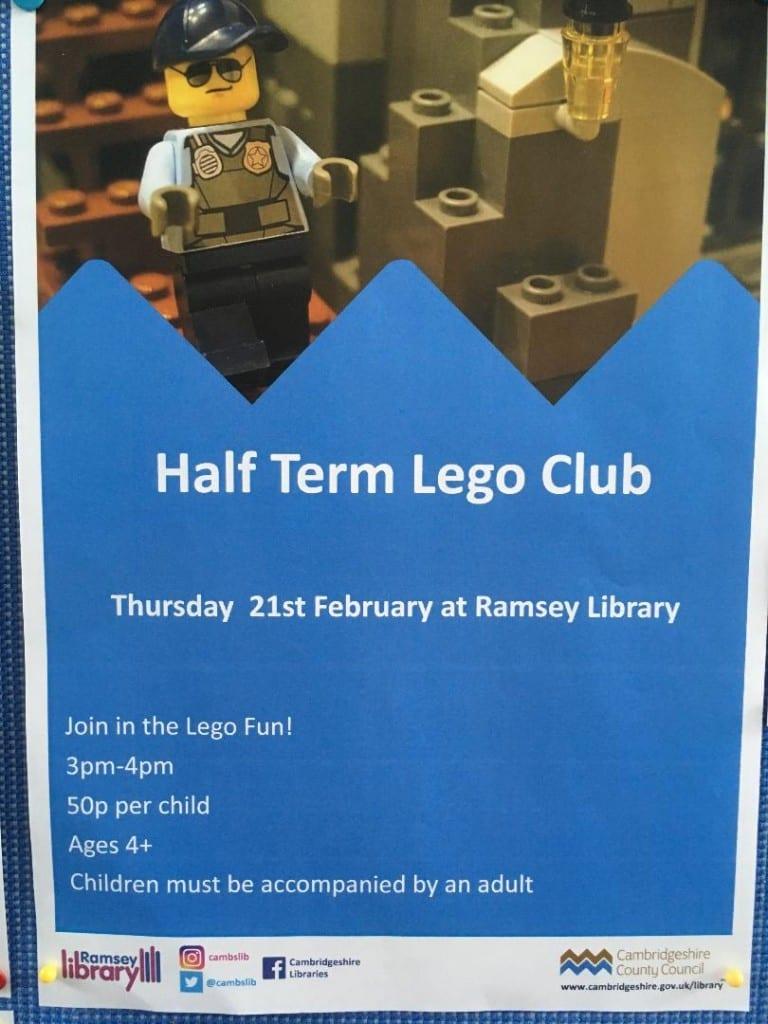 Half Term Lego Club