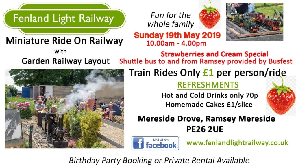 Fenland Light Railway - Strawberries and Cream