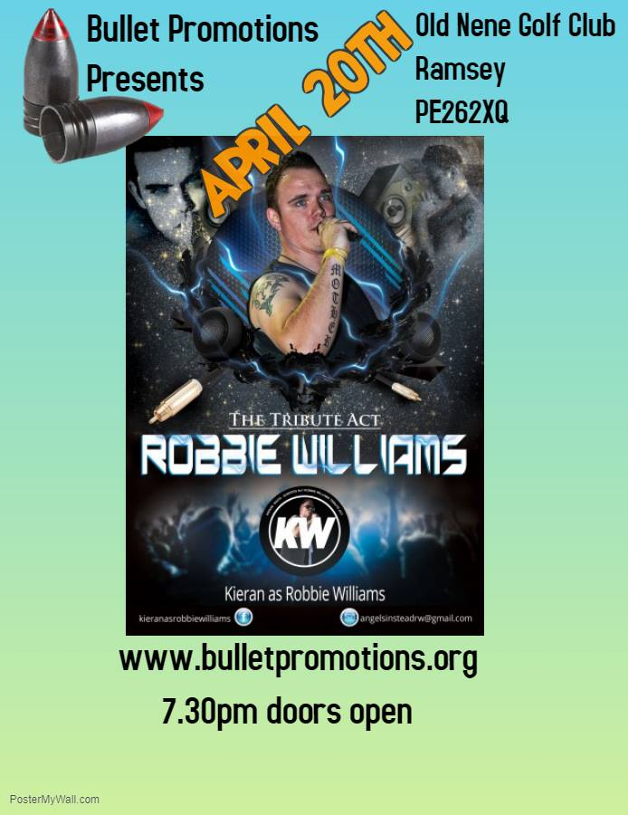 The Tribute Act - Robbie Williams