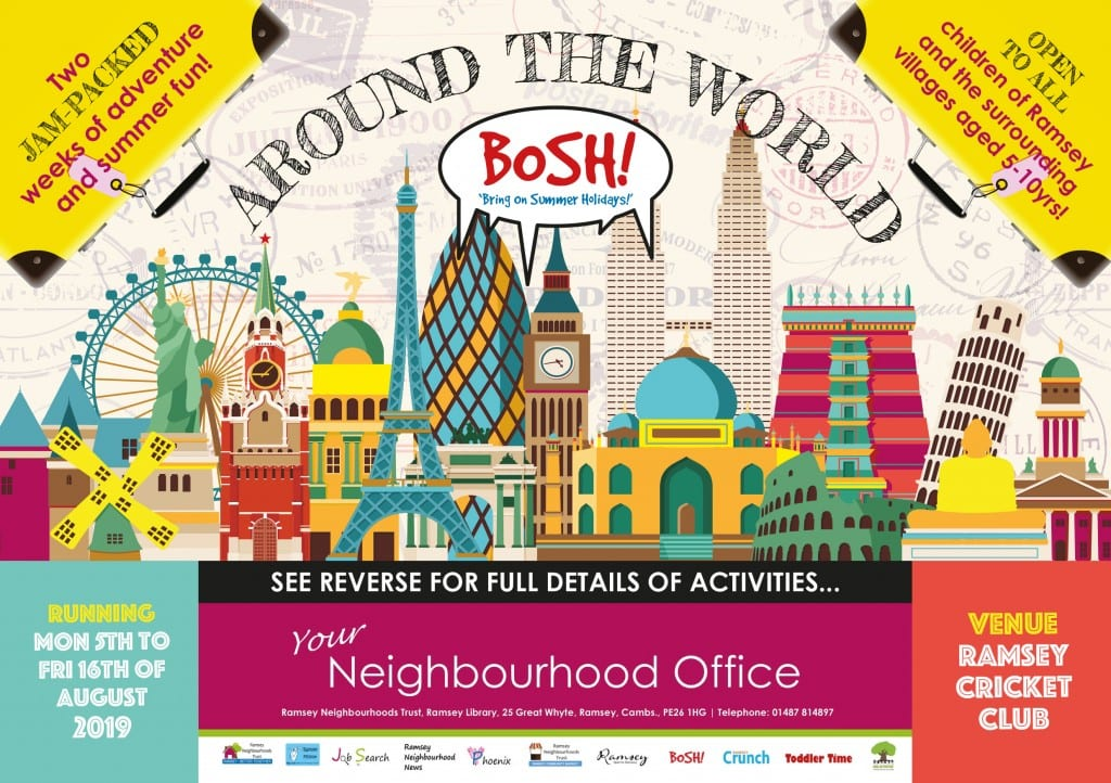 BOSH! Around the World - Summer Fun! - Wicksteed Park