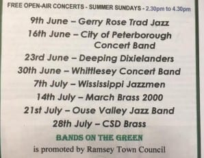 Bands on the Green - Whittlesey Concert Band
