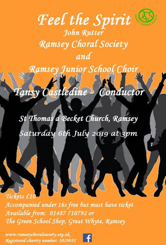 Ramsey Choral Society - Feel the Spirit
