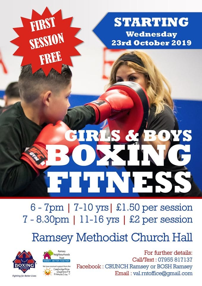 Boxing Fitness - Girls and Boys - every Wednesday!