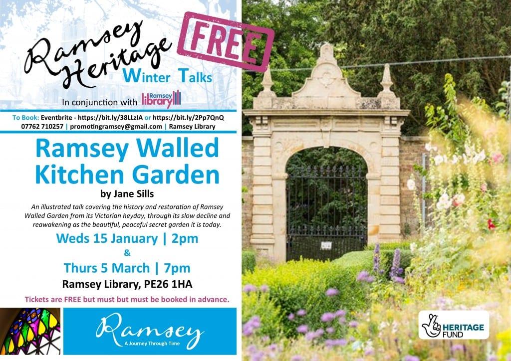 Heritage Winter Talks - Ramsey Walled Kitchen Garden