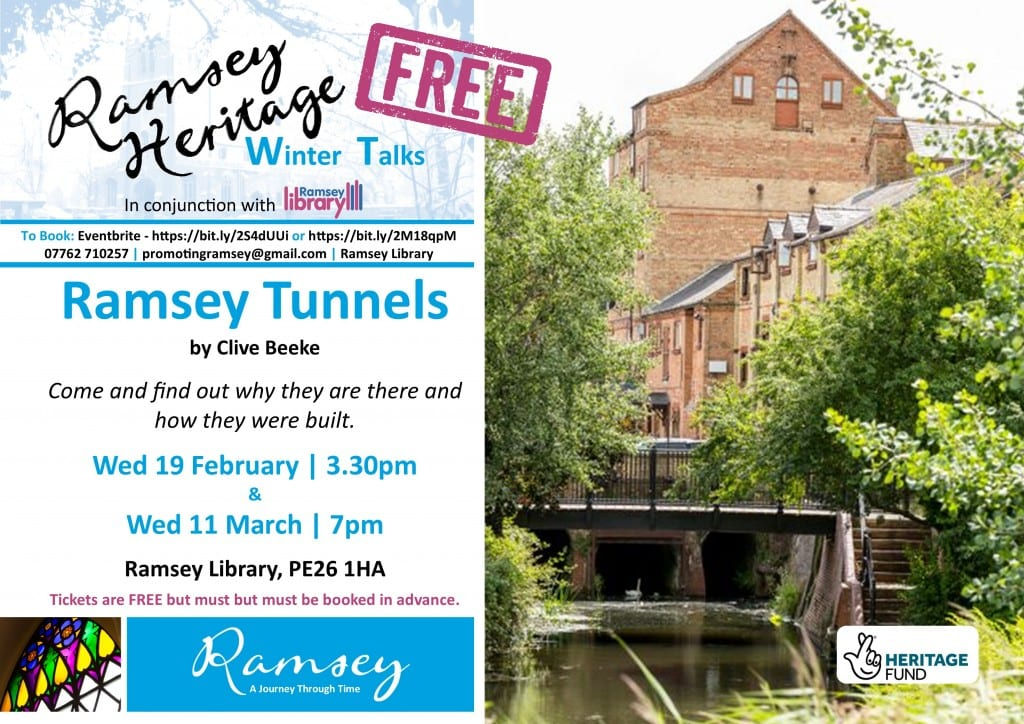 Heritage Winter Talks - Ramsey Tunnels
