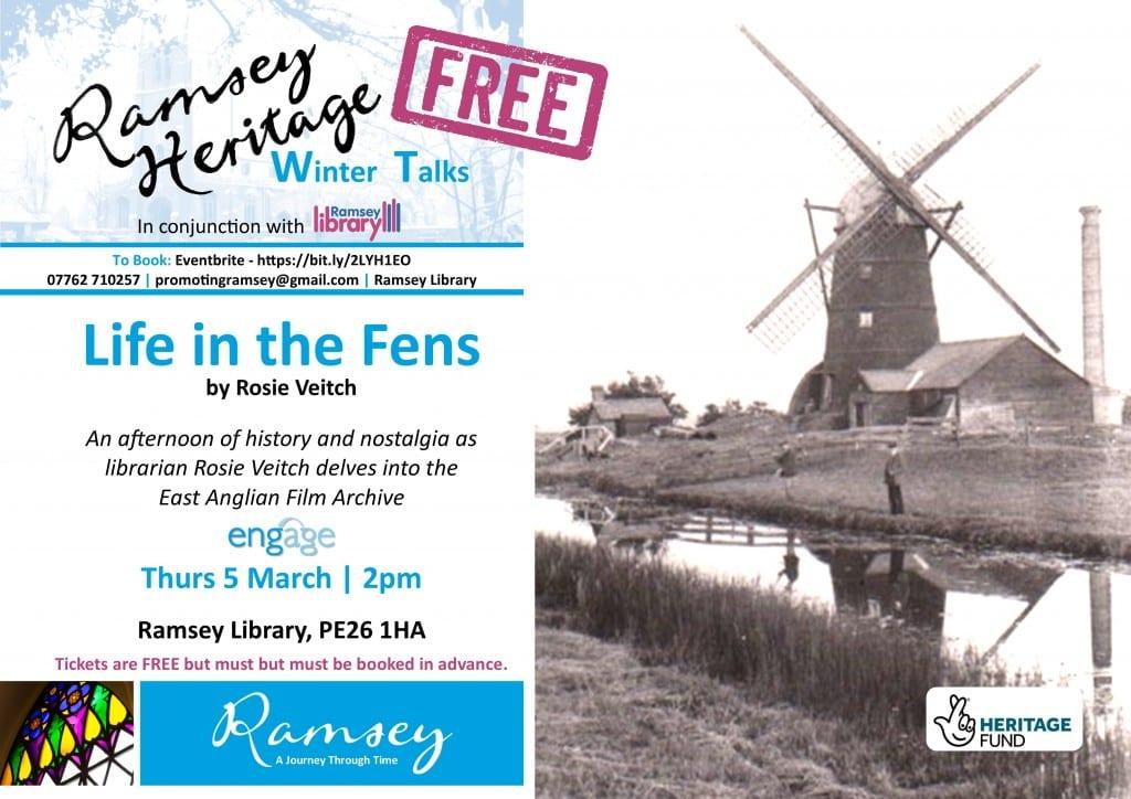 Heritage Winter Talks - Life on the Fens Footage
