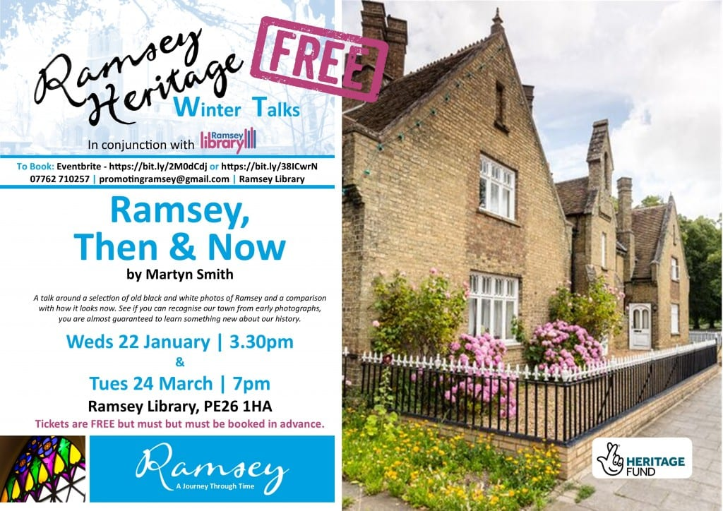 Heritage Winter Talks - Ramsey Then & Now