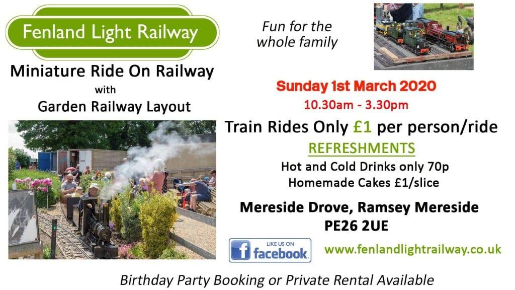 Fenland Light Railway - Public running day