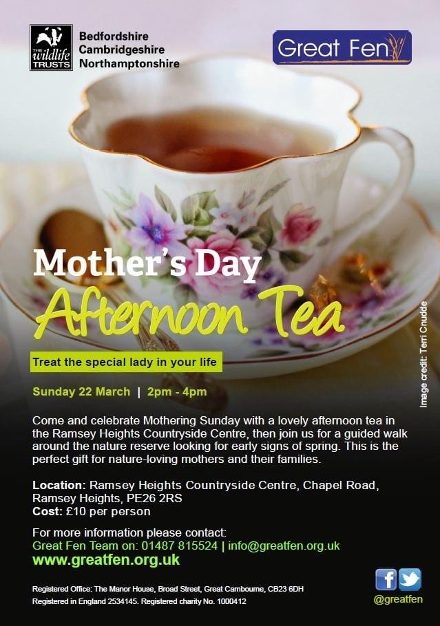Mother's Day Afternoon Tea at Ramsey Heights
