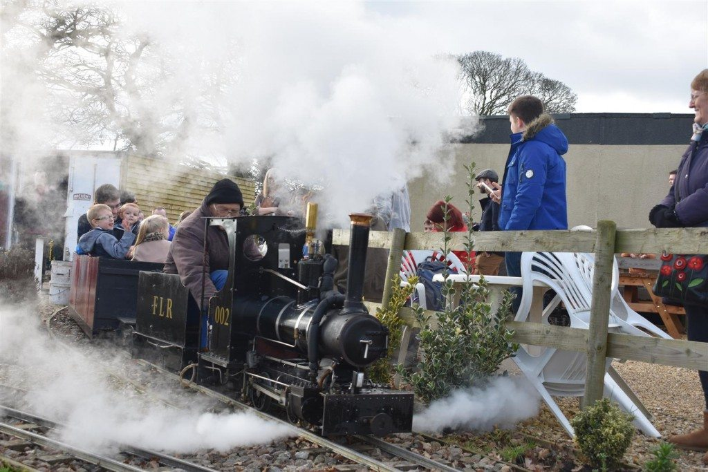 Fenland Light Railway - Public Running Day - Puddings and Custard