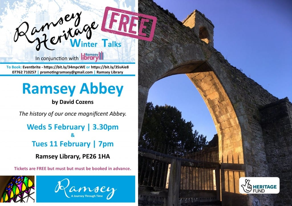 Heritage Winter Talks - Ramsey Abbey