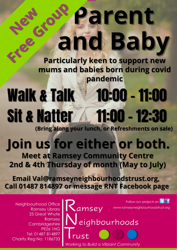 NEW FREE GROUP - Parent and Baby