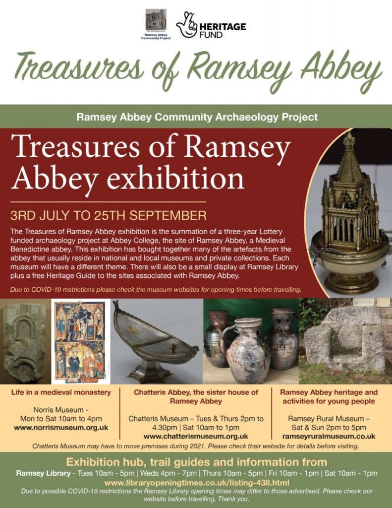 Ramsey Abbey Community Archaeology Project -