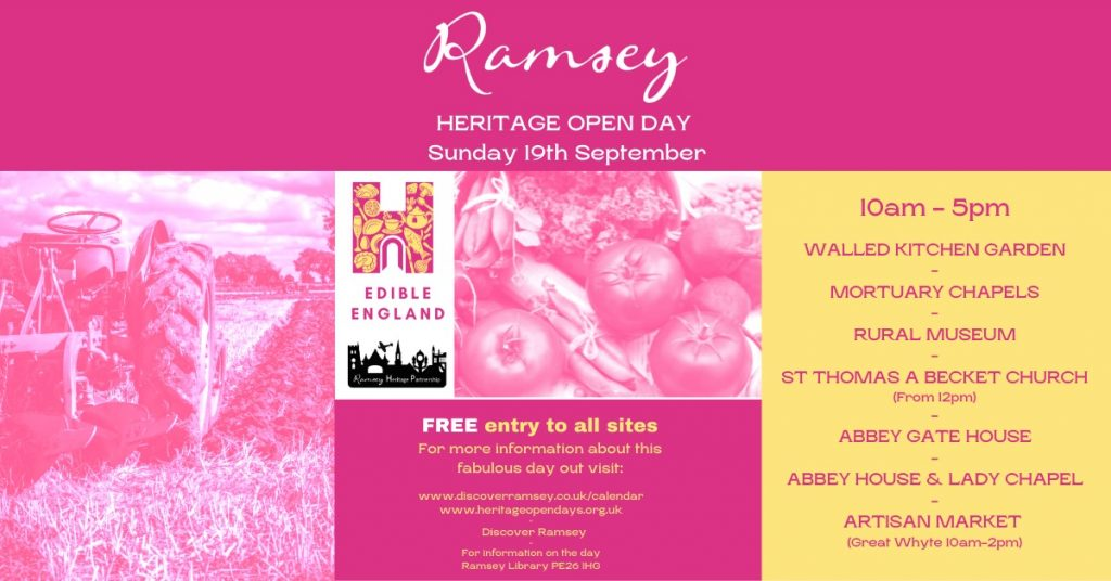 Ramsey Heritage Open Day